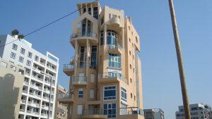 בניין חדש מפרוייקט פינוי בינוי